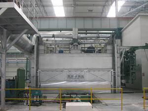 620T Vertical Pushing-type Ingot Furnace