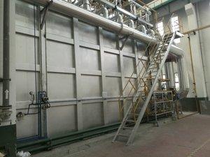 90T燃气加热氮气保护退火炉