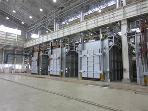 100T Gas Heating Injection-Type Annealing