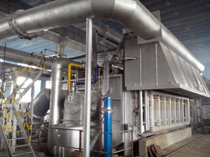 26t Tilting Aluminum Melting Furnace