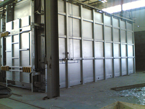 Furnace Body Steel Structure